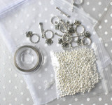 Findings / hardware kit for 10 chunky necklaces.