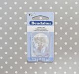 Beadalon #2 crimp tubes 1.8mm silver plate