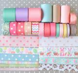 Easter grosgrain ribbon hair bow kit