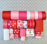 Valentine's Day grosgrain ribbon mix