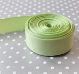 "7/8"" Lime Juice solid Offray grosgrain ribbon 10 yards"
