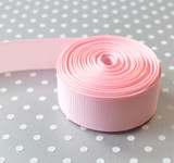 "7/8"" Light Pink solid Offray grosgrain ribbon 10 yards"