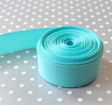 """7/8"""" Navajo Turquoise solid Offray grosgrain ribbon 10 yards"""