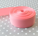 "7/8"" Old Rose solid Schiff grosgrain ribbon 10 yards"