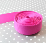 "7/8"" Wild Berry solid Offray grosgrain ribbon 10 yards"