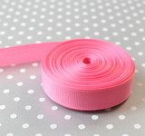 """5/8"""" Hot Pink solid Offray grosgrain ribbon 10 yards"""