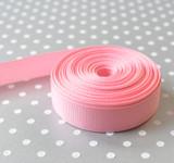 "5/8"" Pink solid Offray grosgrain ribbon 10 yard"