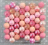 Millennial Pink bubblegum bead wholesale kit