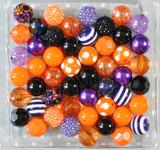 Halloween confetti bubblegum bead wholesale kit