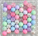 Easter crackle bubblegum bead wholesale kit
