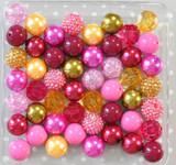 Heirloom Rose bubblegum bead wholesale kit