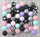 Pastel Goth bubblegum bead wholesale kit