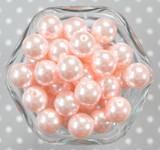 16mm Chiffon pearl bubblegum beads