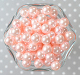 12mm Chiffon pearl bubblegum beads