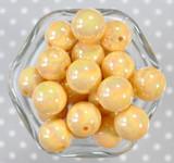 20mm Banana solid AB bubblegum beads