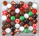 Gingerbread bubblegum bead wholesale kit