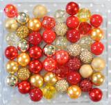 Jingle Bells bubblegum bead wholesale kit