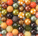 Burnt Ochre bubblegum bead wholesale kit
