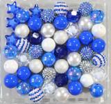 Hanukkah bubblegum bead wholesale kit