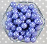 12mm Wisteria pearl bubblegum beads