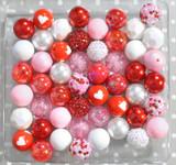 Valentine Confetti bubblegum bead wholesale kit