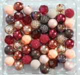 Cinnamon Rose bubblegum bead wholesale kit