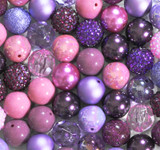 Purple Passion bubblegum bead wholesale kit