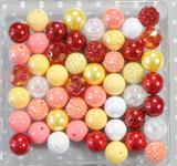 Strawberry banana bubblegum bead wholesale kit