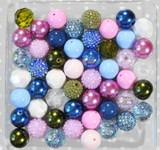 Waterlily bubblegum bead wholesale kit