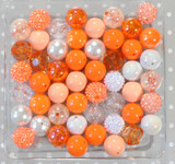 Orange Creamsicle bubblegum bead wholesale kit