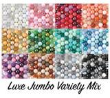 Luxe jumbo bubblegum beads variety mix