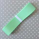 """1.5"""" Offray Mint solid color grosgrain ribbon."""