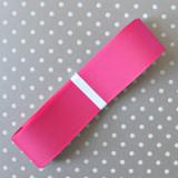 "1.5"" Offray Shocking Pink solid color grosgrain ribbon."