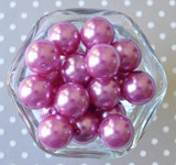 20mm Colonial rose pearl chunky bubblegum beads