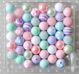 Pastel Easter bubblegum bead wholesale kit