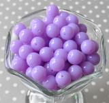 12mm Orchid purple acrylic plastic beads wholesale