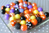 Halloween multi-color chunky bead wholesale kit