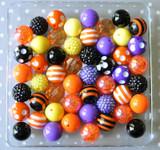 Halloween multi-color bubblegum bead wholesale kit