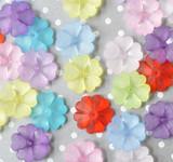 28mm Heart petal lucite flower beads