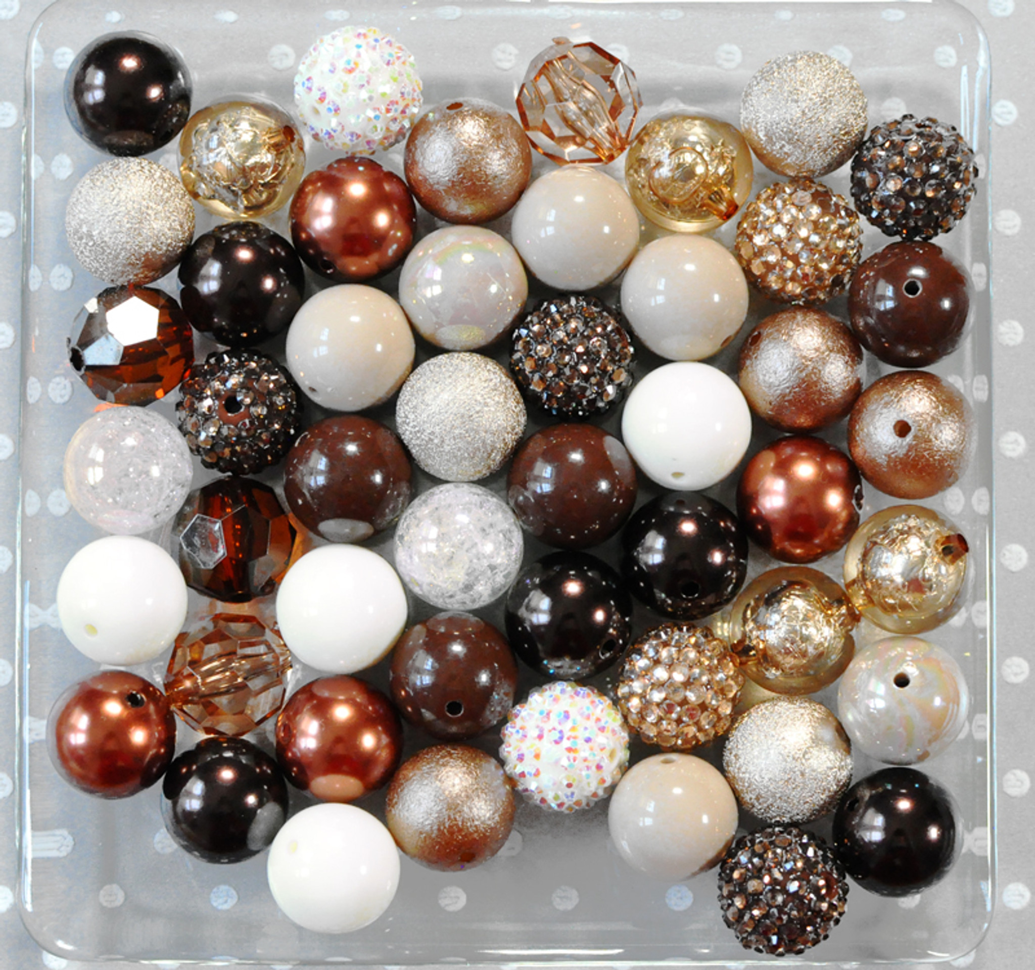 Coffee Cream bubblegum bead wholesale kit