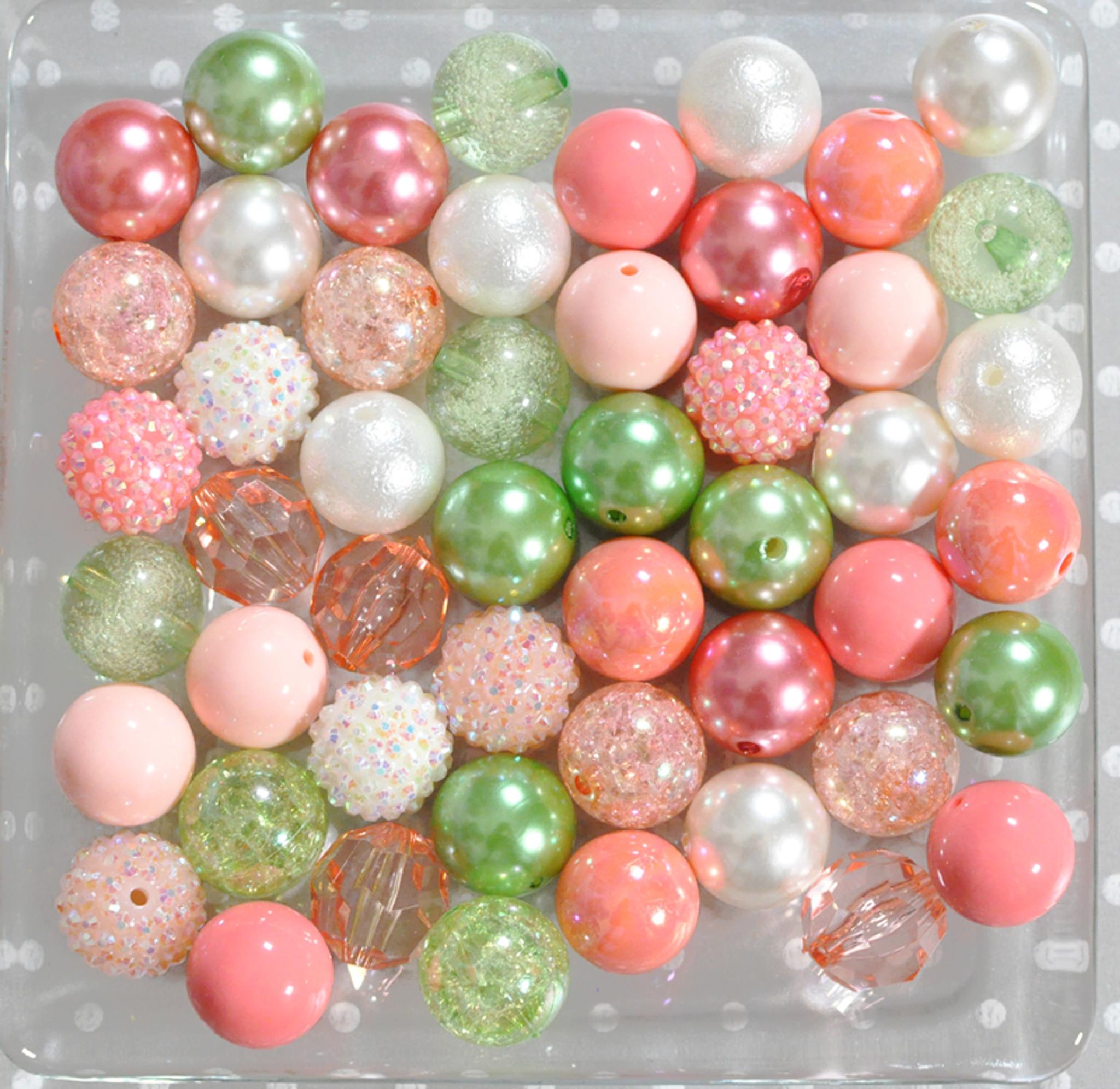 Peach Zest bubblegum bead wholesale kit