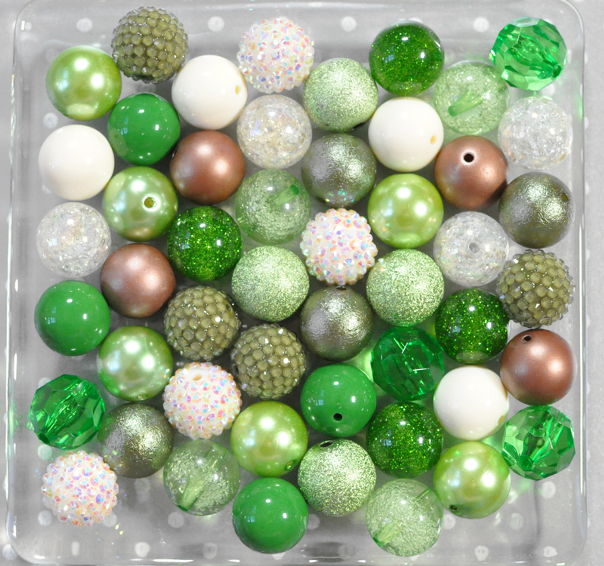 Matcha green bubblegum bead wholesale kit