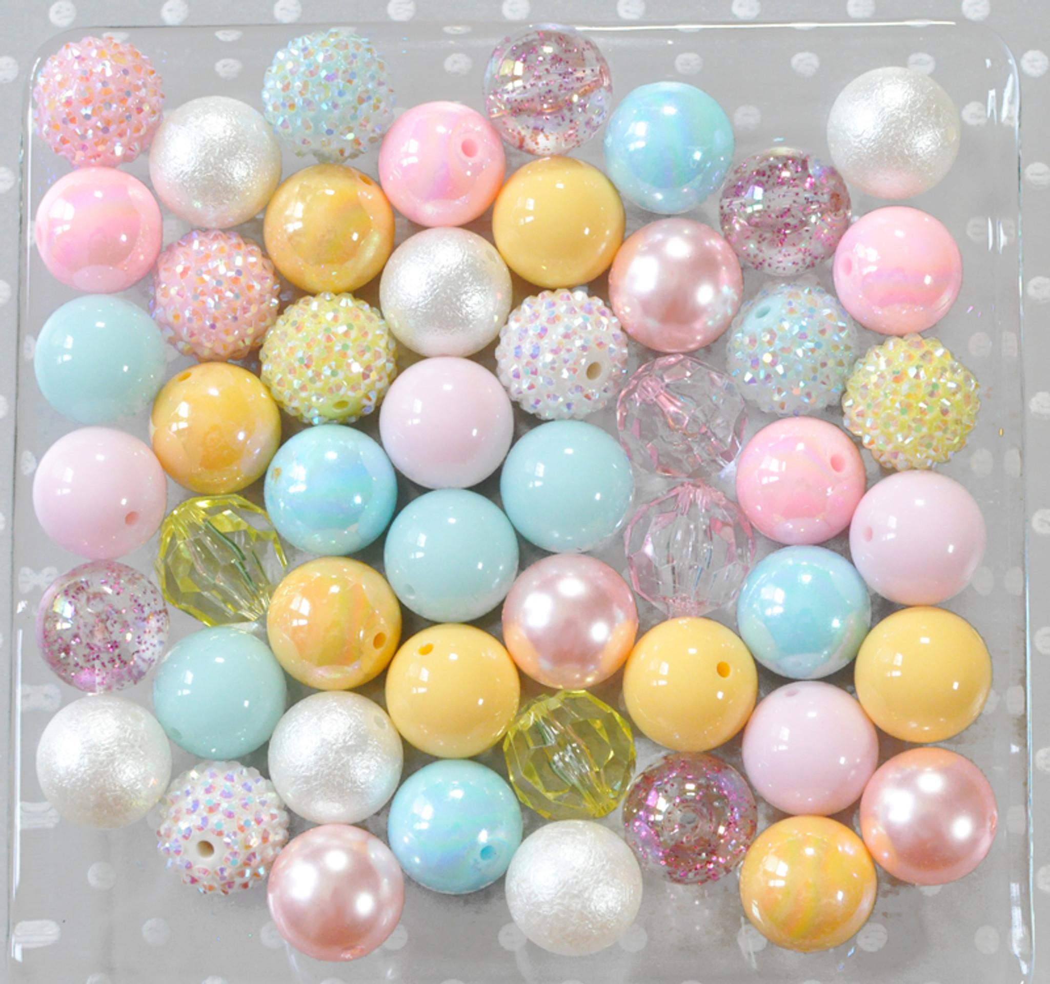 Baby shower bubblegum bead wholesale kit