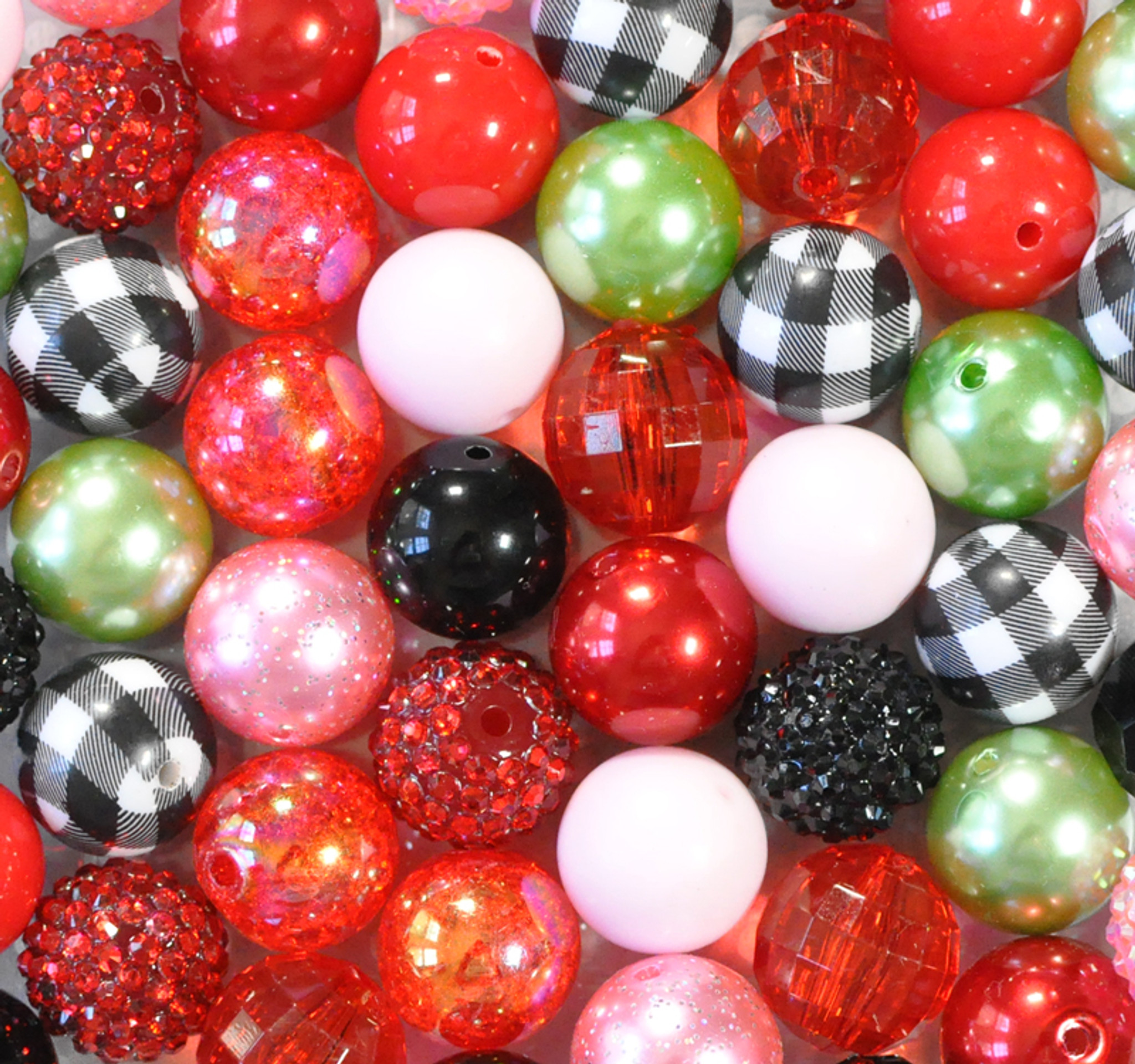 Strawberry Patch bubblegum bead wholesale kit