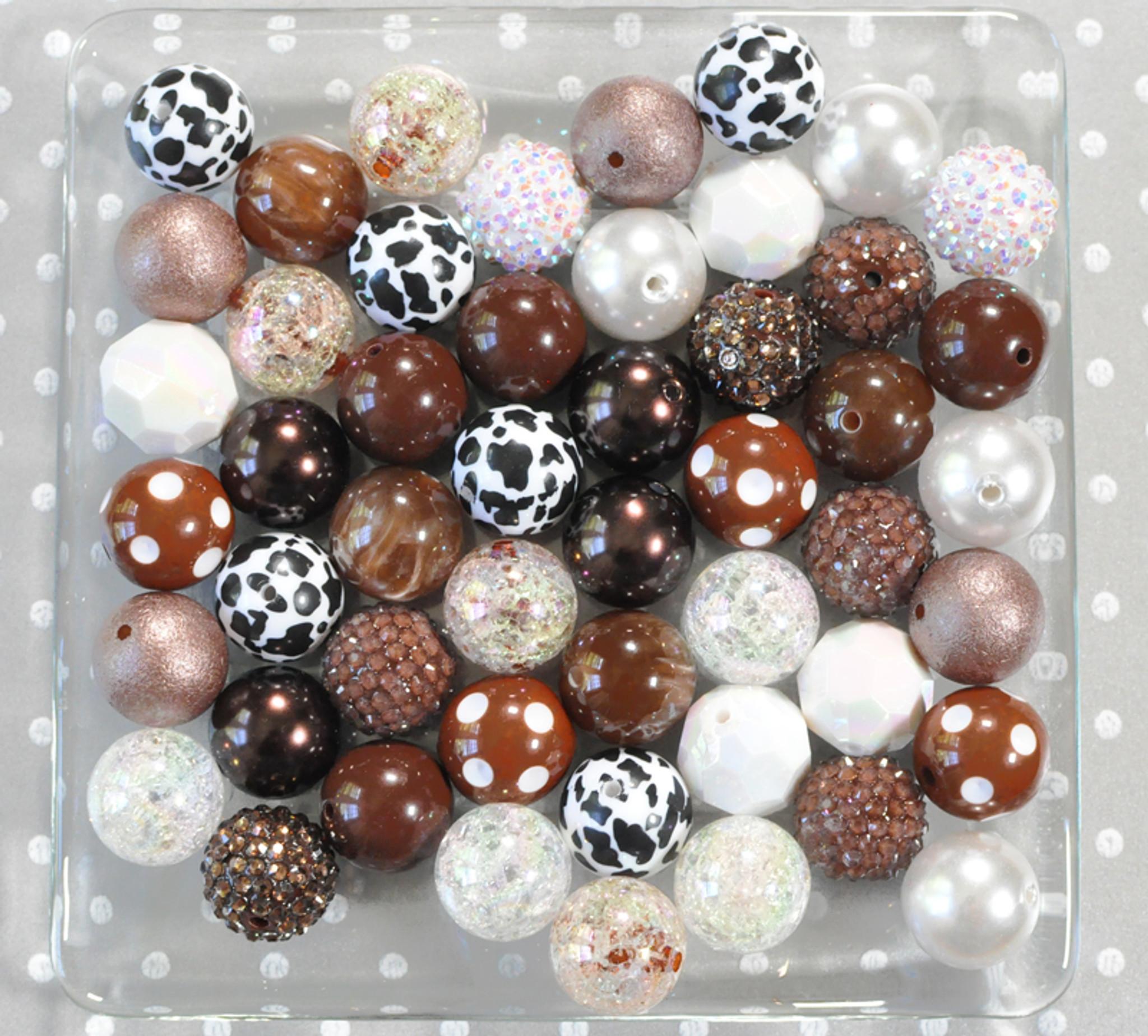 Chocolate Milk bubblegum bead wholesale kit