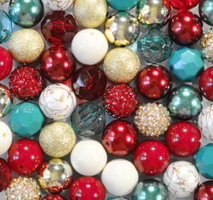 Christmas Past bubblegum bead wholesale kit