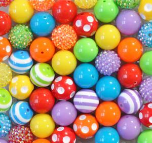 Rainbow Bright bubble gum bead wholesale kit
