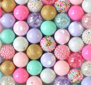 Birthday Cake bubblegum bead wholesale kit