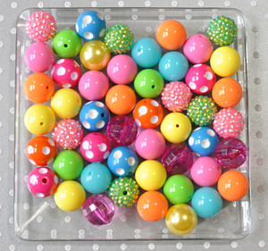 Brights chunky bubblegum bead wholesale kit