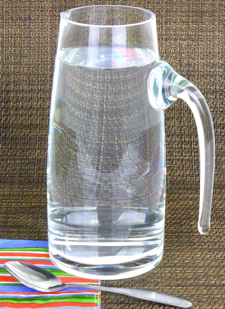 Spiceberry Home Handcrafted Pitcher / Decanter, 30 Ounce